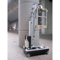 Buy cheap Single Mast Lift For Fixture Works , 6.2m Height Self Propelled Work Platform from wholesalers