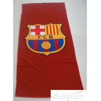 Buy cheap Colorful Suede Microfiber Swimming Towel , Quick Dry Logo Printed Microfiber Towel from wholesalers