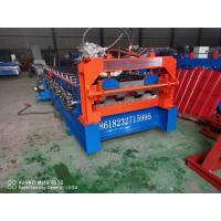 Buy cheap 18 Kw Hydraulic Plate Rolling Machine , Deck Floor Roll Forming Machine from wholesalers