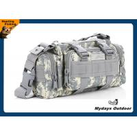 Buy cheap Medium Men White Camo Duffle Bag Combined ACU digital 3L 1000D Oxford from wholesalers