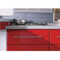 Tranditional Chinese Red Modern Kitchen Cabinets
