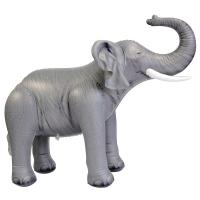 Buy cheap Soft And Lightweight PVC Advertising Elephant Inflatable Zoo Animals 30 Tall from wholesalers