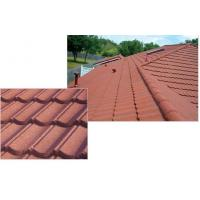 Buy cheap Classic durable Stone Coated Metal Roofing Tile , Exterior architectural roofing shingle from wholesalers
