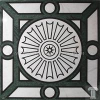 Buy cheap Natural Stone Mosaic Medallion For Floor from wholesalers