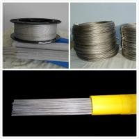 Buy cheap w1 Tungsten wire 0.025mm diameter  of white color chemical composition is 99.6% from wholesalers