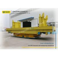 Buy cheap Industry Ladle Transfer Car / Motorized Transfer Trolley Explosion Proof from wholesalers