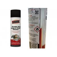 Buy cheap Dirt Removal Carburetor Cleaner Spray For Sticky Choke And Throttle Valves from wholesalers