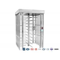 Buy cheap Deluxe Automatic Full Height Turnstile  Pedestrian System Parking Facilities Rotating Gate With 304# Stainless Steel from wholesalers