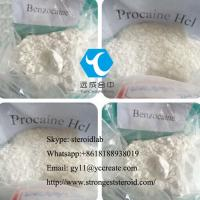 China Benzocaine Local Anesthetic Drug Powder Benzocaine HCL for Pain Reliever CAS 94-09-7 on sale