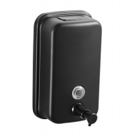 Buy cheap 1000ML S/S Bathroom Wall Mount Liquid Dispenser In Black Coating from wholesalers