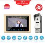 Buy cheap Sensor's button 7 Inch video door phone high tech door bell camera intercom door video phone from wholesalers