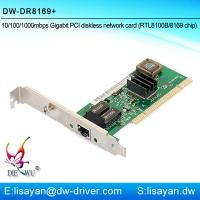 Buy cheap Good quality Realtek RTL8169 1G Ethernet Lan PCI adapter card from wholesalers