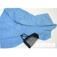Buy cheap 100% Polyester Microfiber Sports Towel Personalized With Mesh Bag from wholesalers