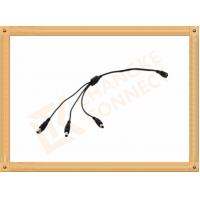 Buy cheap Copper Conductor Power Custom Cable Assembly 1 To 3 Y Type Male To Female Cable from wholesalers