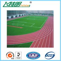Durable PU Running Track Flooring Recycled Rubber Floor Sports Synthetic Prefabricated