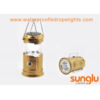 Buy cheap 3 W Waterproof Solar LED Camping Lantern / Outdoor Led Camping Light from wholesalers
