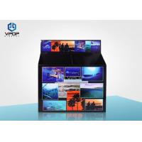 Buy cheap Foldable Retail Display Dump Bins Sturdy Structure Durable With Long Service Time from wholesalers