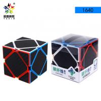 Buy cheap Hot Sale Anti-Sticking Heterotypic Magic Cube Skew Carbon Fiber Sticker Surface Magic Cube Puzzle Educational Toys 1640 from wholesalers
