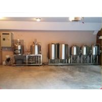 Buy cheap Electric Nano Beer Manufacturing Machine With SUS 304 Craft Beer Making Tank from wholesalers