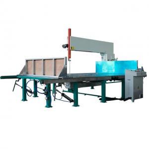 Buy cheap D&T Automatic Vertical Foam Cutting Machines Cutting Foam with CE polystyrene cnc machine sponge cutting machine product
