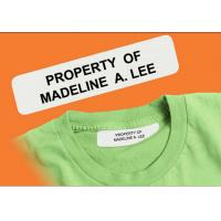 Buy cheap School Uniform nursing home daycare peel and stick iron on name label from wholesalers