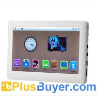 Buy cheap mediaPad - Full 1080P HD MP4 Player with 5 Inch Touch Screen and FM Radio - White from wholesalers