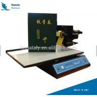 Buy cheap hot stamping machine audley adl 3050a hot foil stamping machine for leather paper bookcover from wholesalers