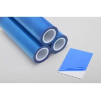 Buy cheap Scratch Proof 100m 1200mm Plastic Sheet Protective Film For PVC Roofing Sheet from wholesalers