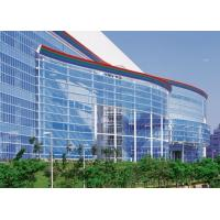 Buy cheap Laminated Bent Coated Curtain Wall Glass Tempered , Size 800mm X 2200mm from wholesalers