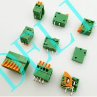 Buy cheap Good Quality Spring Cage Clamp 2.54mm Terminal Block  Brand With UL CE DL141R-XX-2.54 from wholesalers