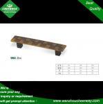 Buy cheap Zinc alloy chrome plated furniture kitchen handles, c-c192mm zamak cabinet handles from wholesalers