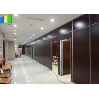 Buy cheap Folding Sliding Partition Walls MDF Melamine Movable Soundproof Walls Partition from wholesalers
