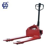 Buy cheap 0.65kw 48V 15Ah Low Profile Electric Powered Lift Pallet Truck Jack from wholesalers
