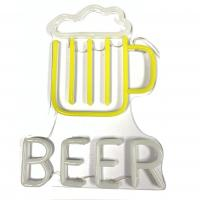 China Man Caves Beer Custom Neon Light Signs Lightweigh Long Lasting  Easy To Install on sale