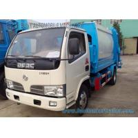 Buy cheap 3cbm--5cbm Small Compactor Garbage Trucks Dongfeng Chassis 4x2 from wholesalers