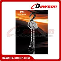Buy cheap Small Size DSVM Lever Block with G80 zinc plated alloy load chain from wholesalers