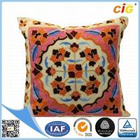 Buy cheap Washable Home Textile Products Pillow Covers Dark Brown / Buff / Gray from wholesalers