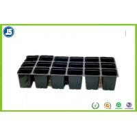 Buy cheap Black Plastic Flower Pot Trays Blister Packaging Tray With QS IS9001 product