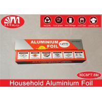 Buy cheap Food Wrapping Paper Aluminium Foil Roll , Heavy Duty Foil Paper10 Micron Thickness from wholesalers