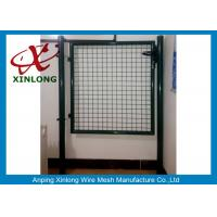Buy cheap Circular / Square Shape Welded Wire Gate Panels With 1.5mm Thickness Post from wholesalers