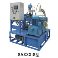 Buy cheap Small disc Centrifugal Oil Purifier Water Fuel Filter Separator  Variable Discharging 500 - 1000 L/H from wholesalers