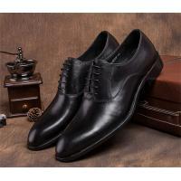 Pointed Plain Toe Mens Classic Dress Shoes For Four Seasons EU 37-44 Size Range