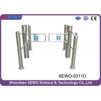 Buy cheap Supermarkt Stainless Steel  Automatic  Swing Gate Turnstile with IC Card from wholesalers