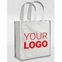 Buy cheap Wholesale price promotional customized recycled plain tote shopping non woven bag, Garment bag Drawstring bag PP Woven B from wholesalers