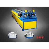 Buy cheap 0.3-0.7mm Thickness Dual C Purlin Forming Machine With Servo Motor Punching from wholesalers