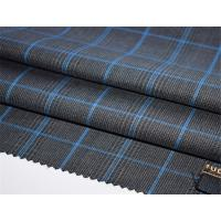 Buy cheap Fashion Modern Checked Worsted Wool Suiting Fabric from wholesalers