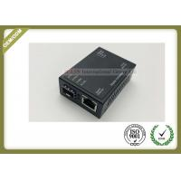 Buy cheap Professional Industrial Mini size compact Optical Media Converter 10/100/1000Mbps DC 5V~12V from wholesalers
