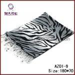 Buy cheap Zebra-Stripe Printed Acrylic Scarf (AZ01-9) from wholesalers