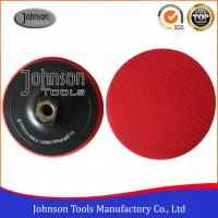 Buy cheap Different Size Granite Diamond Polishing Pads With Plastic Foam Backing Pad Holder from wholesalers