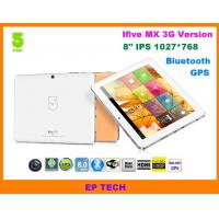 Buy cheap 8 GPS tablet PC IFive MX IPS screen with build in 3G 1G/16G Bluetooth HDMI from wholesalers